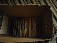 joblot bulk lot of vinyl 7 inch singles records collection