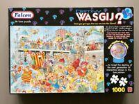 Wasgij Puzzle. (Falcon de Luxe ) 1,000 piece