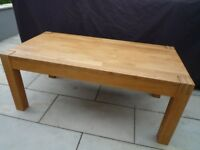 Used Solid oak coffee table