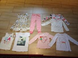 girl new clothes 4-5 years small bundle