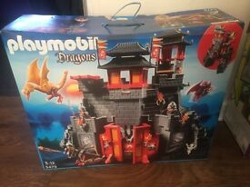 Playmobil 5479 Great Asian Dragon Castle Brand new unopened