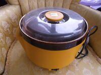 Lovely Original Vintage / retro large Kenwood slowcooker / cook pot 3.2lr