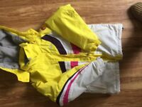 Girls ski outfit - jacket and 2 trousers