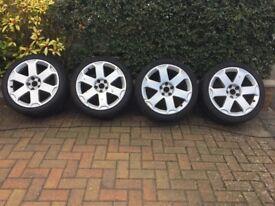 Audi 6 spoke alloys