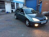 FOR SALE FORD FOCUS 2002 AUTOMATIC 1.6 ONLY £499