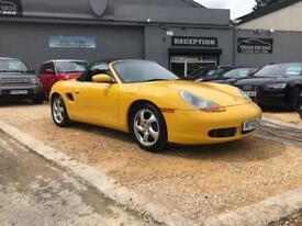 PORSCHE BOXSTER 3.2 S TIPTRONIC S 2d AUTO 248 BHP (yellow) 2002
