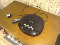 Samsung pebble DVD player with HD upscaling