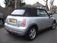 !!! MINI ONE 1.6 CONVERTIBLE/CABRIOLET 2004 PLATE !!! LOW MILEAGE !!! CHEAP !!!