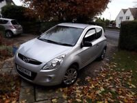 Hyundai i20 1.2 Classic 3dr - 2009. Low mileage for year. MOT Aug 2018. Ideal first car