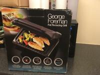 Fat reducing electric grill