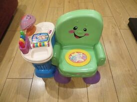 *** Fisher Price Laugh and Learn Chair *** Excellent Condition