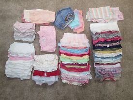 Bundle of Baby Girls Clothes, 6-9 Months, Good Condition, Over 100 Items in Total