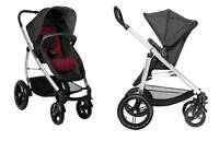 Phil and teds push chair + baby seat