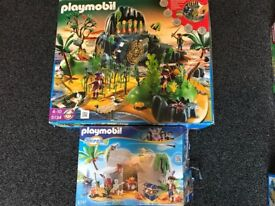 Play Mobil 5134 pirate adventure island 4797 super 4 pirate cove