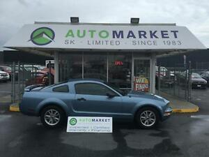 2005 Ford Mustang V6 DELUXE COUPE AUTOMATIC & WARRANTY TOO!!