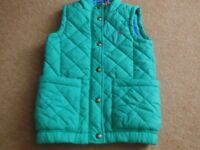 GIRL'S JOULES GILET/BODY WARMER AGE 8 YEARS.