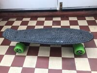 Boys Roller Quad Skates & Skate Board - Used by very good condition