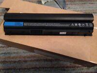 6 Cell battery for Dell Latitude E6120 E6220 E6230 E6320 E6320 XFR E6330 E6430S