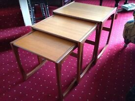 1960 G Plan nest of tables