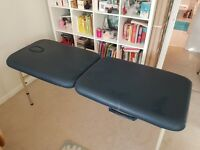 Lightweight massage table - excellent condition