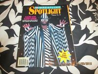 RARE WWF/WWE WRESTLING SPOTLIGHT MAGAZINE VOLUME NO 13 RANDY MACHO MAN SAVAGE DATED 1991