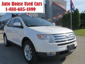 2010 Ford Edge SEL,LIMITED,AWD,leather,Panoramic sunroof,AWD,Pea