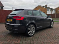 Audi A3 2.0 TDI 140 S Line - 5 door Diesel in Met Grey