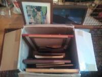 Job lot of frames for sale