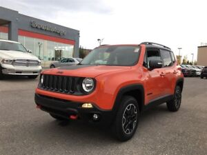 2017 Jeep Renegade Trailhawk-4WD, QUALIFIES FOR SPECIAL FINANCIN