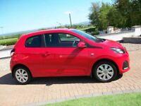 Apr 2015 Peugeot 108 ACTIVE *LOW MILES*ZERO ROAD TAX*