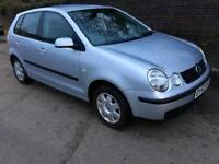 Volkswagen Polo 1.4 SE 5dr 1 Months mot, 2 keys, 1 owner from new, 2002 (52 reg), Hatchback