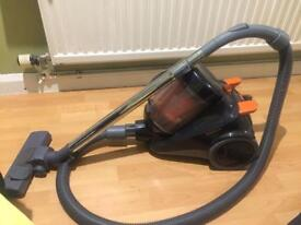 Vax black portable corded hoover