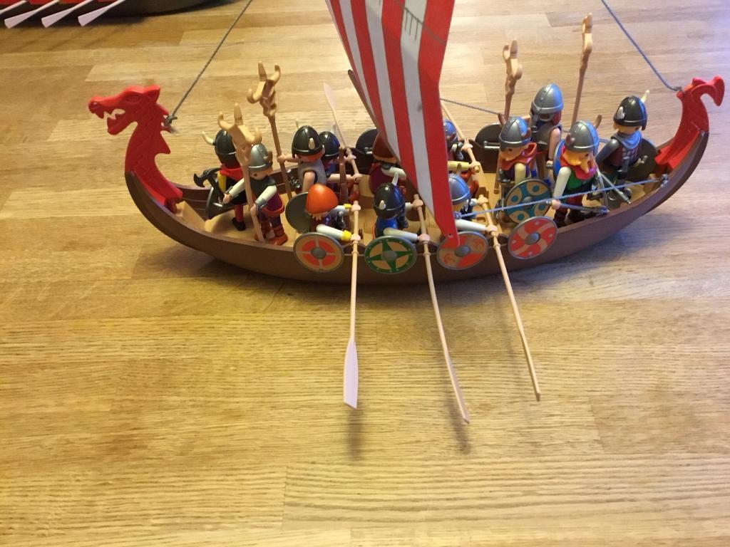 Playmobil Viking Ship With Vikings Sold Pending Collection In Cupar Fife Gumtree