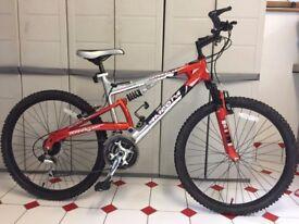 "Barracuda Arizona 26"" Full Suspension Adult Mountain Bike"