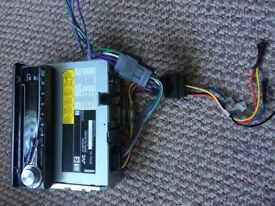 JVC car CD player / stereo