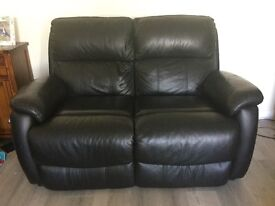 leather 3 seat sofa electric recliner, + 2 seat