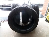 Winter / snow tyres x 4. Bridgestone Blizzak LM25 225/45 R17 94V, part worn.