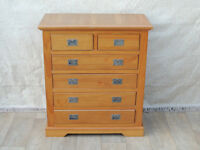Quality wooden chest of drawers (Delivery)