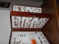 DOUBLE WOODEN FLY BOX