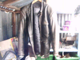 Leather bike motorbike jacket - Richa