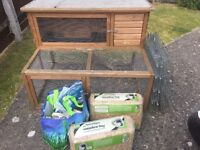 Rabbit hutch job lot