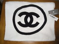Brand New Chanel Denim Classic Vintage, Shopping, Tote, Dress, Beach, Towel Make Up, Wash Bag.
