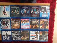 12blurays and 1harry potter box set