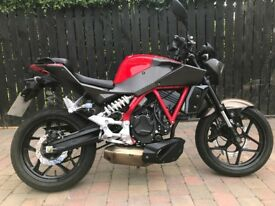 HYOSUNG GD250 -STREET FIGHTER STYLE 2016 VERY CLEAN -FINANCE AVAILABLE £2250