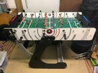 Riley 4 foot folding football table new reduced price.