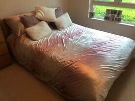 King size bed frame 160cm x 210 cm