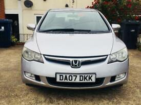 Honda Civic Hybrid 1.3 Auto just 2 previously Lady Owners Very low millage Quick Sale!!!