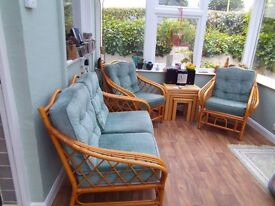 CONSERVATORY SOFA AND CHAI
