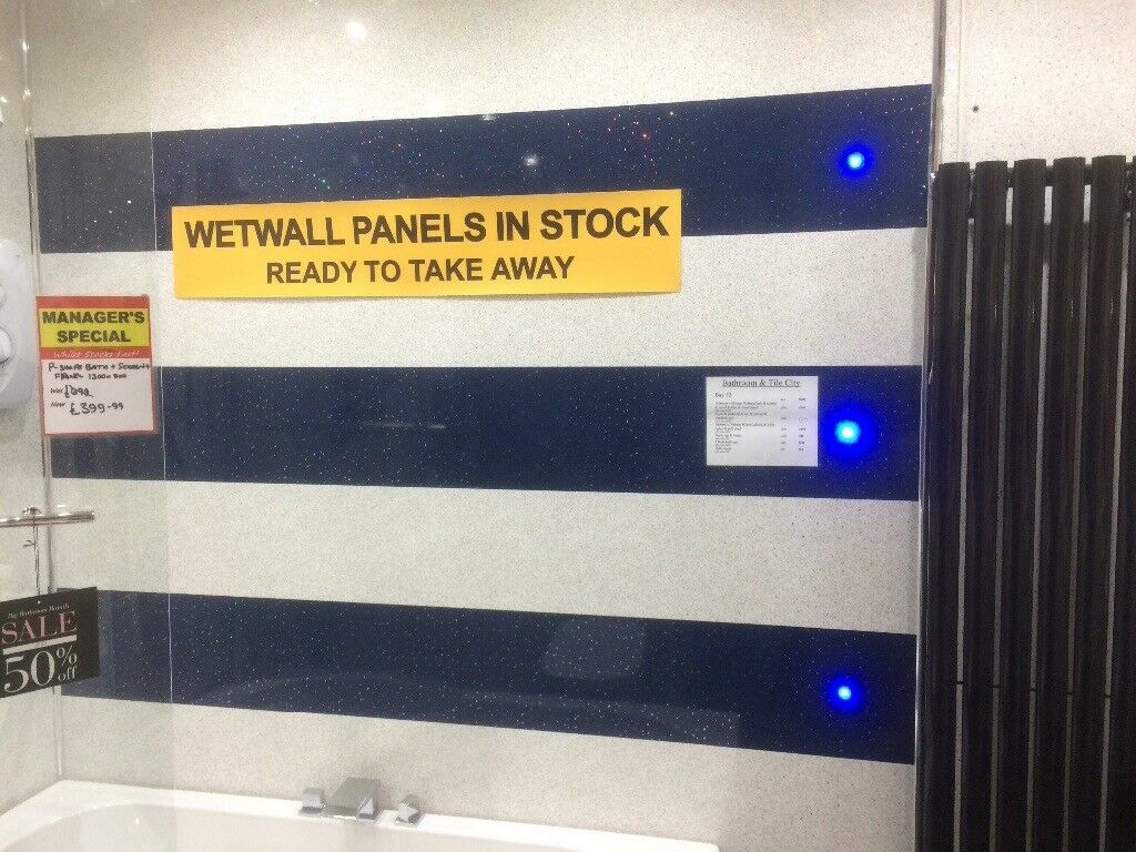 Wet Wall Megasale Now On!!! | in Hillington, Glasgow | Gumtree