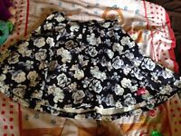 Superdry skirt xs size